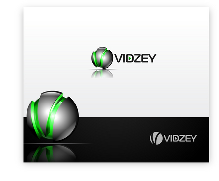 "VIDZEY, or just the letter ""V"" A Logo, Monogram, or Icon  Draft # 68 by iDesign"
