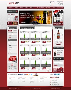 New online liquor distribution company.