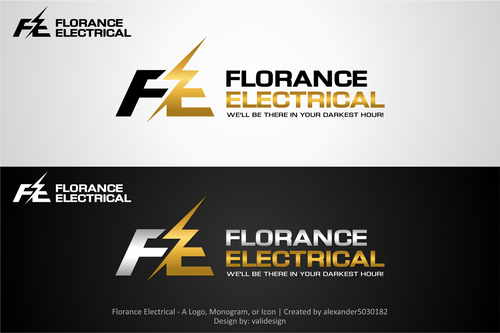 Florance Electrical  A Logo, Monogram, or Icon  Draft # 92 by validesign