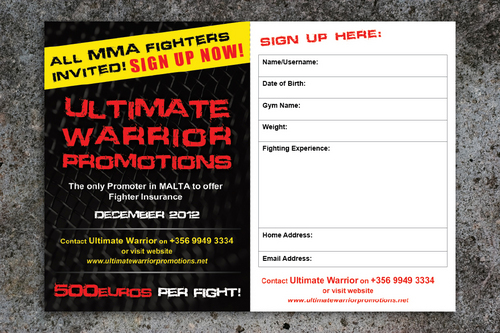 Ultimate Warrior Promotions