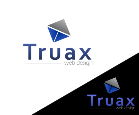 Truax web design A Logo, Monogram, or Icon  Draft # 2 by the0d0ra
