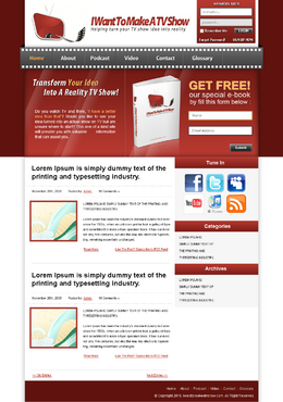 Blog Design Blog Design Template Winning Design by suketoejoeh