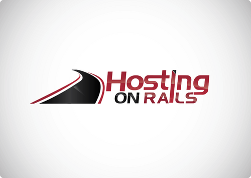 Hosting On Rails A Logo, Monogram, or Icon  Draft # 15 by creativedezign