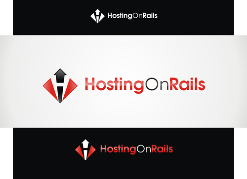Hosting On Rails A Logo, Monogram, or Icon  Draft # 31 by hambaAllah