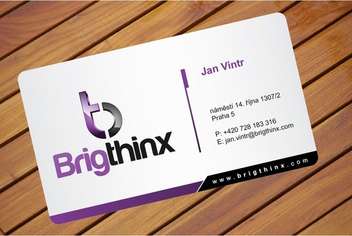 Brigthinx s.r.o. Business Cards and Stationery  Draft # 39 by i3designer