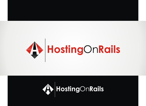 Hosting On Rails A Logo, Monogram, or Icon  Draft # 42 by hambaAllah