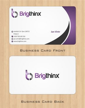 Brigthinx s.r.o. Business Cards and Stationery  Draft # 66 by Deck86