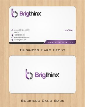 Brigthinx s.r.o. Business Cards and Stationery  Draft # 67 by Deck86