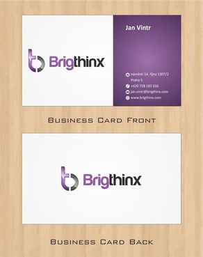 Brigthinx s.r.o. Business Cards and Stationery  Draft # 70 by Deck86