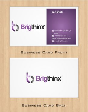 Brigthinx s.r.o. Business Cards and Stationery  Draft # 71 by Deck86