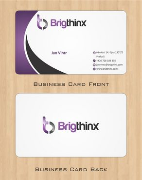 Brigthinx s.r.o. Business Cards and Stationery  Draft # 74 by Deck86