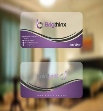 Brigthinx s.r.o. Business Cards and Stationery  Draft # 79 by Deck86