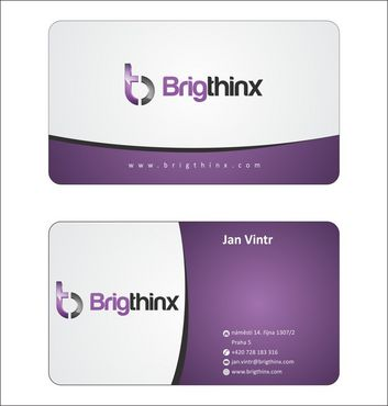 Brigthinx s.r.o. Business Cards and Stationery  Draft # 81 by Deck86
