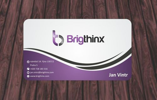 Brigthinx s.r.o. Business Cards and Stationery  Draft # 80 by Deck86