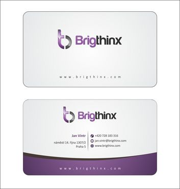 Brigthinx s.r.o. Business Cards and Stationery  Draft # 82 by Deck86