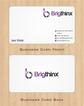 Brigthinx s.r.o. Business Cards and Stationery  Draft # 83 by Deck86