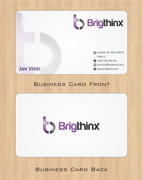 Brigthinx s.r.o. Business Cards and Stationery  Draft # 84 by Deck86