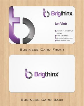 Brigthinx s.r.o. Business Cards and Stationery  Draft # 85 by Deck86