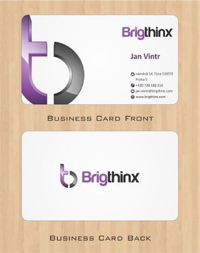 Brigthinx s.r.o. Business Cards and Stationery  Draft # 86 by Deck86