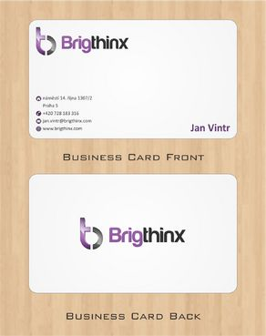 Brigthinx s.r.o. Business Cards and Stationery  Draft # 87 by Deck86