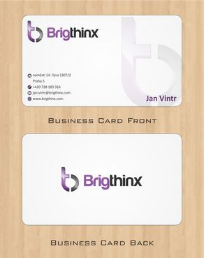 Brigthinx s.r.o. Business Cards and Stationery  Draft # 88 by Deck86