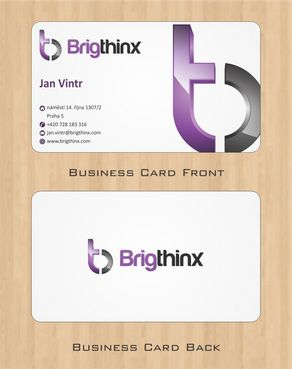 Brigthinx s.r.o. Business Cards and Stationery  Draft # 89 by Deck86
