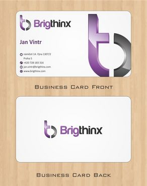 Brigthinx s.r.o. Business Cards and Stationery  Draft # 90 by Deck86
