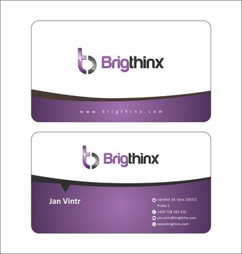 Brigthinx s.r.o. Business Cards and Stationery  Draft # 91 by Deck86