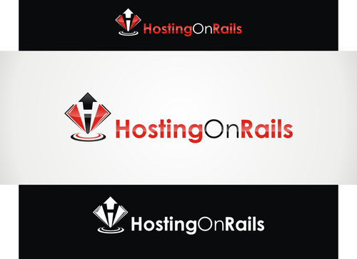 Hosting On Rails A Logo, Monogram, or Icon  Draft # 44 by hambaAllah