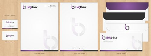 Brigthinx s.r.o. Business Cards and Stationery  Draft # 204 by Deck86