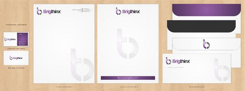 Brigthinx s.r.o. Business Cards and Stationery  Draft # 203 by Deck86