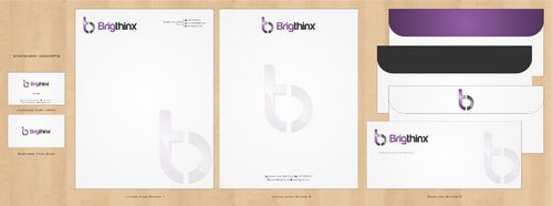 Brigthinx s.r.o. Business Cards and Stationery  Draft # 205 by Deck86