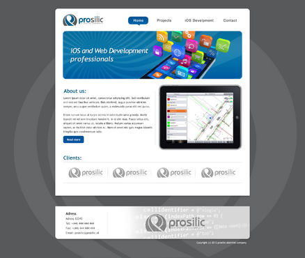 iOS and Web Development professionals