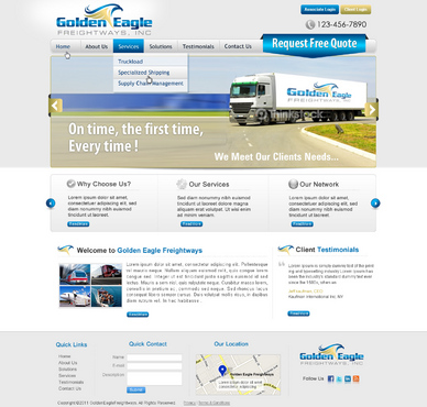Golden Eagle Freightways, Inc.