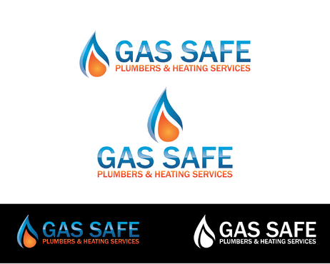 Gas Safe Plumbers & Heating Services A Logo, Monogram, or Icon  Draft # 30 by BeUnique