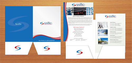 Presentation Pocket Folder & Leaflet