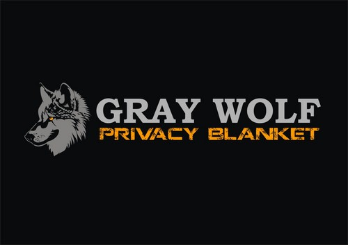 Gray Wolf Privacy Blanket