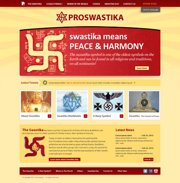 Rehabilitate the Swastika Web Design  Draft # 1 by smartinfo