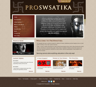 Rehabilitate the Swastika Web Design  Draft # 4 by smartinfo