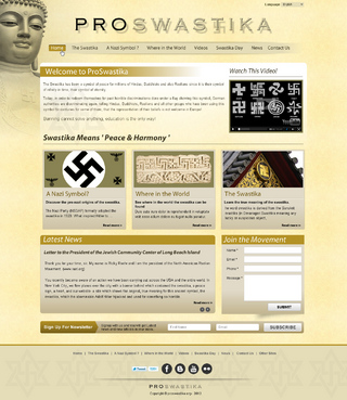 Rehabilitate the Swastika Web Design  Draft # 5 by smartinfo