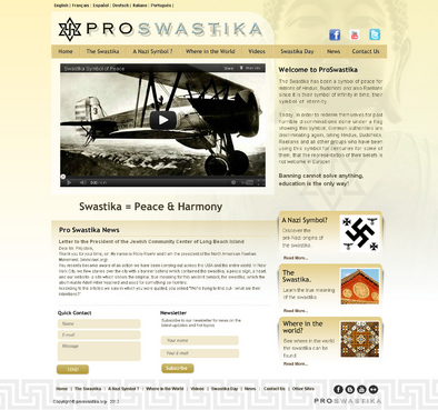 Rehabilitate the Swastika Web Design  Draft # 6 by smartinfo