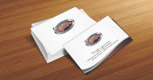 Zintar's Collision and Auto Repair Business Cards and Stationery  Draft # 52 by Deck86
