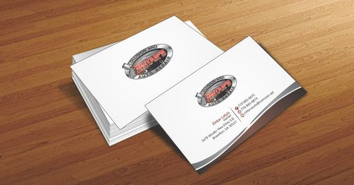 Zintar's Collision and Auto Repair Business Cards and Stationery  Draft # 59 by Deck86