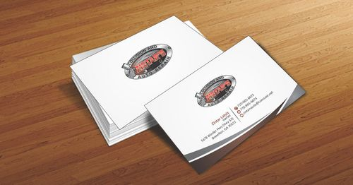 Zintar's Collision and Auto Repair Business Cards and Stationery  Draft # 54 by Deck86