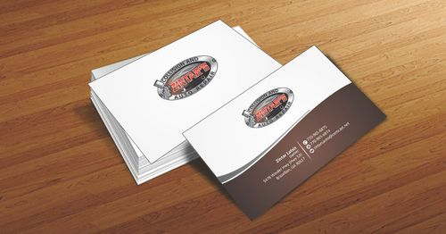 Zintar's Collision and Auto Repair Business Cards and Stationery  Draft # 55 by Deck86