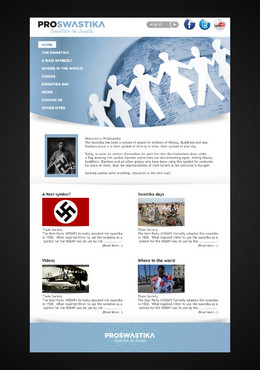 Rehabilitate the Swastika Web Design  Draft # 22 by flovey