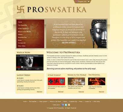 Rehabilitate the Swastika Web Design  Draft # 25 by smartinfo