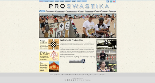 Rehabilitate the Swastika Web Design  Draft # 31 by ibmpeter