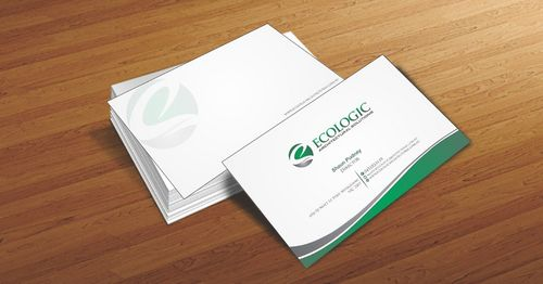 Ecologic Architectural Solutions Business Cards and Stationery  Draft # 85 by Deck86