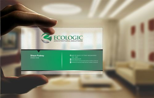 Ecologic Architectural Solutions Business Cards and Stationery  Draft # 111 by Deck86